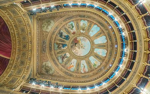 Teatro Massimo Ceiling